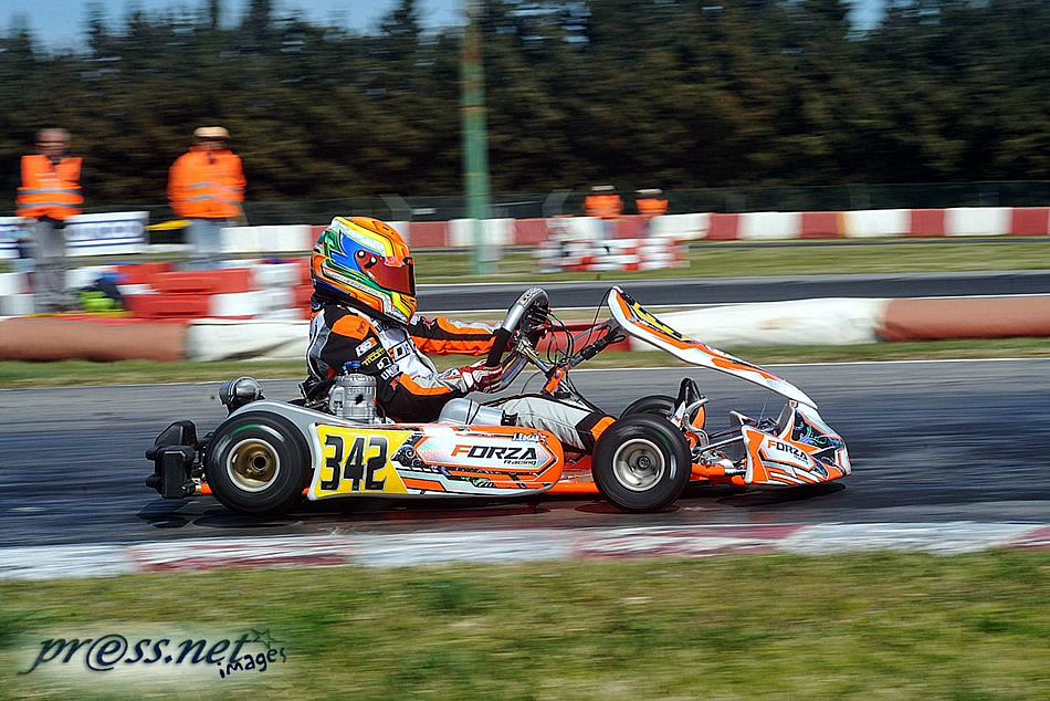 CIK FIA EUROPEAN CHAMPIONSHIP 2017 ROUND 1 JUNIOR FINAL